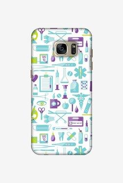 Amzer Doctor Pattern 1 Designer Case For Samsung Galaxy S7 Edge