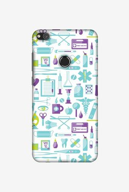 Amzer Doctor Pattern 1 Designer Case For Huawei P8 Lite 2017