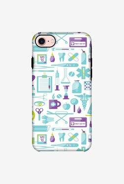 Amzer Doctor Pattern 1 Hybrid Dual Layer Designer Case For IPhone 8