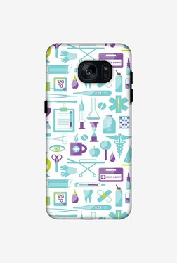 Amzer Doctor Pattern 1 Hybrid Dual Layer Designer Case For Samsung Galaxy S7