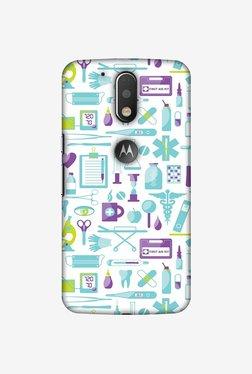 Amzer Doctor Pattern 1 Designer Case For Moto G4/G4 Plus