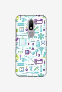 Amzer Doctor Pattern 1 Designer Case For Moto M