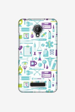 Amzer Doctor Pattern 1 Designer Case For Micromax Canvas Spark Q380