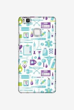 Amzer Doctor Pattern 1 Designer Case For Huawei P9 Lite