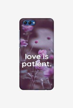 Amzer Love Is Patient Designer Case For Honor View 10