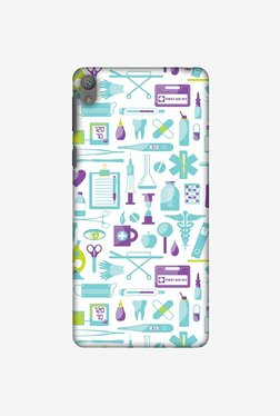 Amzer Doctor Pattern 1 Designer Case For Sony Xperia E5