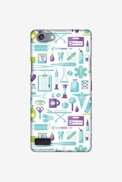 Amzer Doctor Pattern 1 Designer Case For Oppo Neo 7