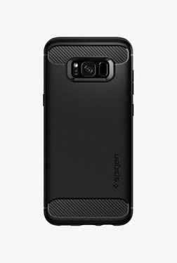 Spigen Rugged Armor Case (Black) For Samsung S8 Plus