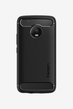 Spigen Rugged Armor Case (Black) For Moto G5 Plus