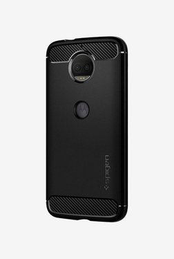 Spigen Rugged Armor Case (Black) For Moto G5s Plus