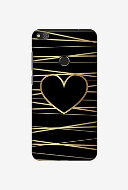 Amzer Golden Heart Ribbon Designer Case For Huawei P8 Lite 2017