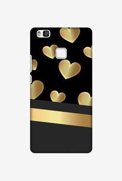 Amzer Golden Hearts Designer Case For Huawei P9 Lite