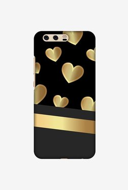 Amzer Golden Hearts Designer Case For Huawei P10