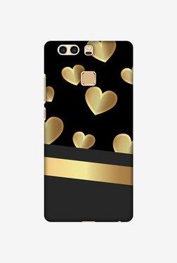 Amzer Golden Hearts Designer Case For Huawei P9 Plus