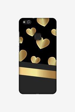 Amzer Golden Hearts Designer Case For Huawei P10 Lite