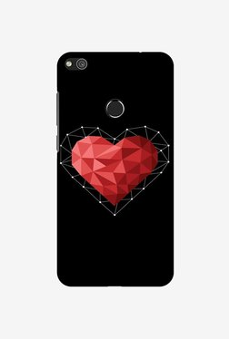 Amzer Geometric Heart Designer Case For Huawei P8 Lite 2017