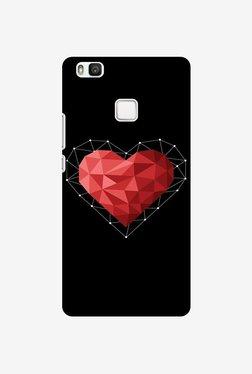 Amzer Geometric Heart Designer Case For Huawei P9 Lite