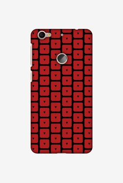 Amzer Small Hearts Pattern Designer Case For LeEco Le 1S/Le 1s Eco