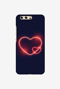 Amzer Glowing Heart Designer Case For Huawei P10