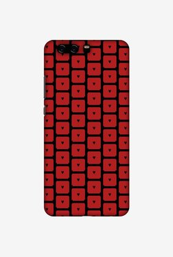 Amzer Small Hearts Pattern Designer Case For Huawei P10 Plus