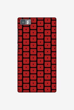 Amzer Small Hearts Pattern Designer Case For Mi 3