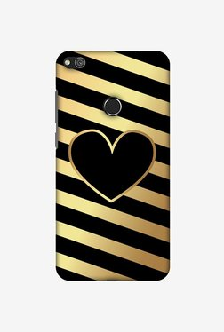 Amzer Diagonal Heart Lines Designer Case For Huawei P8 Lite 2017