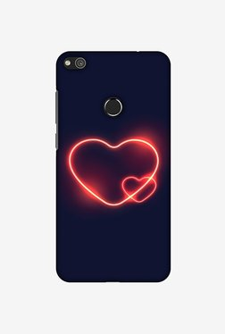 Amzer Glowing Heart Designer Case For Huawei P8 Lite 2017