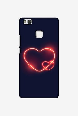Amzer Glowing Heart Designer Case For Huawei P9 Lite