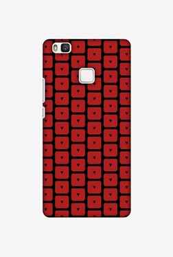 Amzer Small Hearts Pattern Designer Case For Huawei P9 Lite