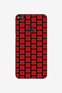 Amzer Small Hearts Pattern Designer Case For Huawei P8 Lite 2017