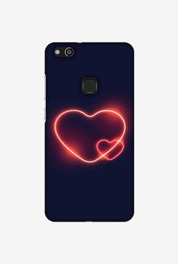 Amzer Glowing Heart Designer Case For Huawei P10 Lite