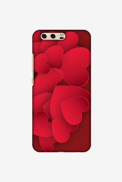 Amzer Red Hearts Designer Case For Huawei P10