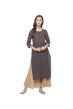4d932b701 Varanga Grey Printed Palazzo Kurta Set for women price in India on ...