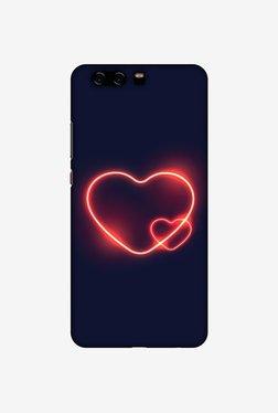 Amzer Glowing Heart Designer Case For Huawei P10 Plus