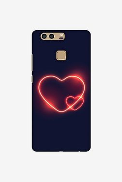 Amzer Glowing Heart Designer Case For Huawei P9