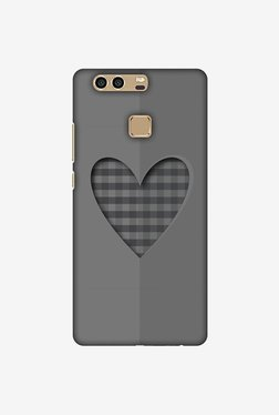 Amzer Grey Heart Designer Case For Huawei P9