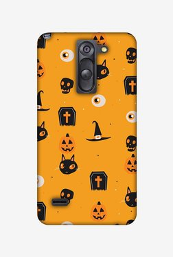 Amzer Spooky Collage Halloween Designer Case For LG G3 Stylus