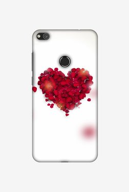Amzer Rose Heart Designer Case For Huawei P8 Lite 2017