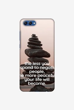 Amzer Buddha Quotes 2 Designer Case For Honor View 10