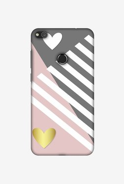 Amzer Geometric Shapes & Hearts Designer Case For Huawei P8 Lite 2017
