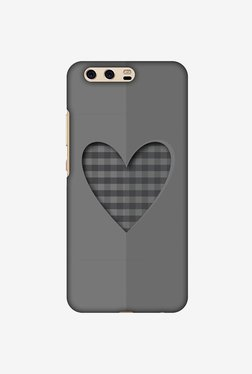 Amzer Grey Heart Designer Case For Huawei P10