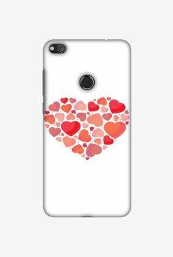 Amzer Hearts Within A Heart Designer Case For Huawei P8 Lite 2017