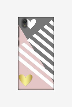 Amzer Geometric Shapes & Hearts Designer Case For Sony Xperia L1