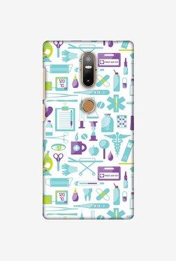Amzer Doctor Pattern 1 Designer Case For Lenovo Phab 2 Plus