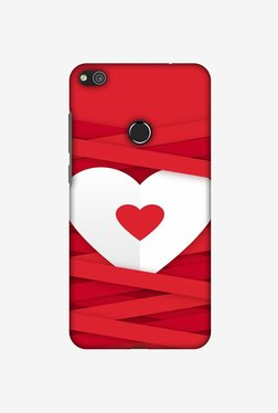 Amzer Heart In Ribbons Designer Case For Huawei P8 Lite 2017