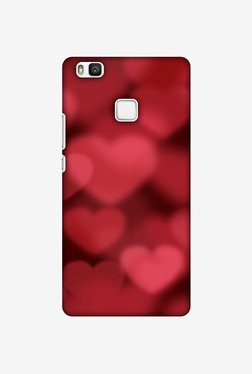 Amzer Faded Hearts Designer Case For Huawei P9 Lite