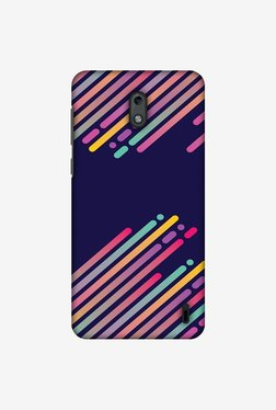 Amzer Stripes 2 Designer Case for Nokia 2