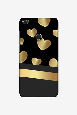 Amzer Golden Hearts Designer Case For Huawei P8 Lite 2017