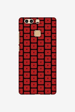 Amzer Small Hearts Pattern Designer Case For Huawei P9 Plus