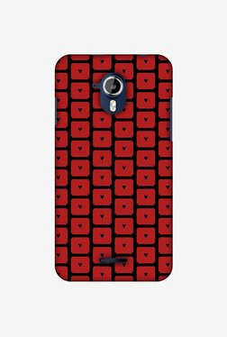 Amzer Small Hearts Pattern Designer Case For Micromax Canvas Magnus A117